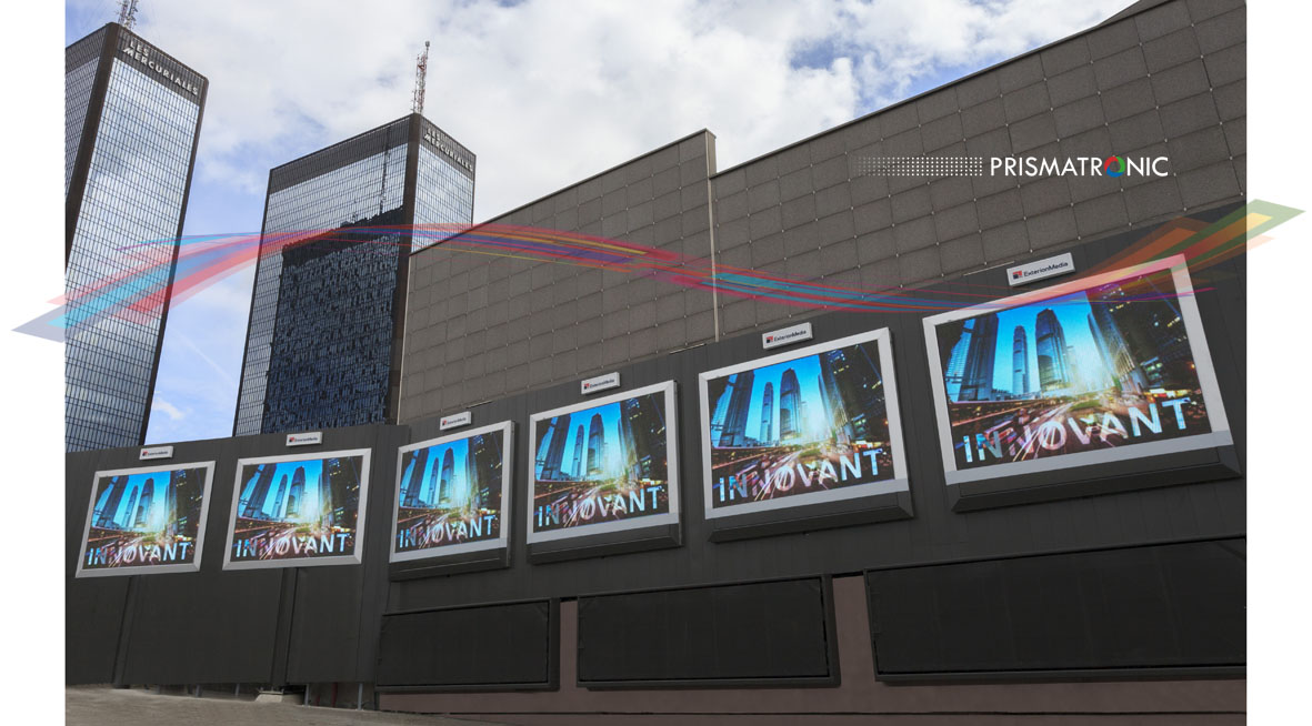 Panneau d'affichage digital LED
