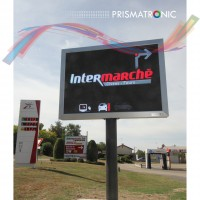 prismatronic P8 panel for intermarché