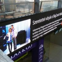 Panneau publicitaire LED