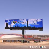 outdoor P10 billboard