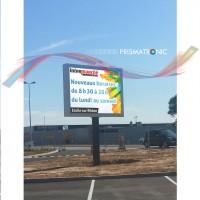 Panneau d'affichage LED Prismaflex