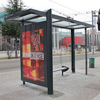 bus shelter advertising