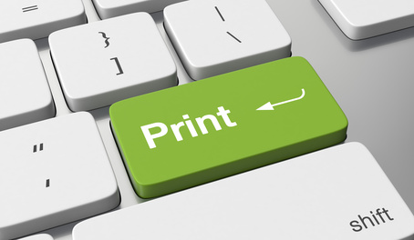Online-service: web to print