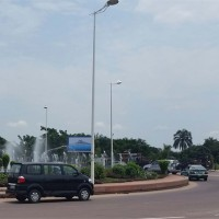 LED bilboard in Brazzaville