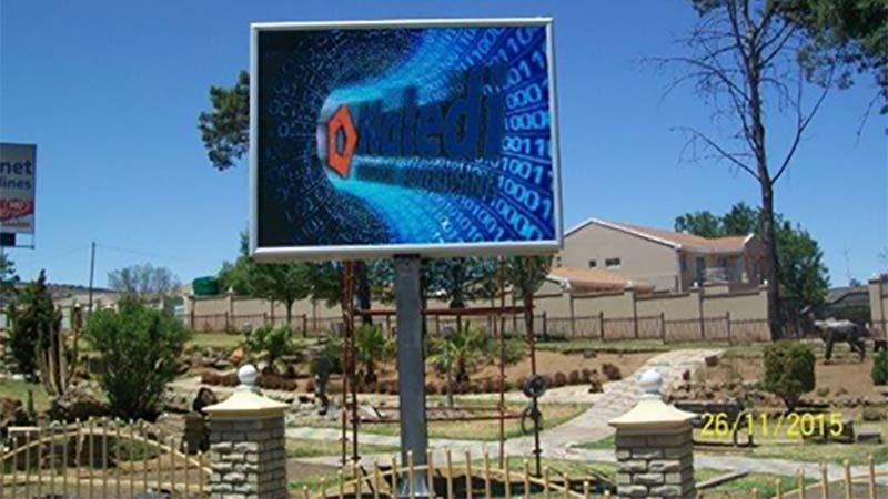 led display in south africa