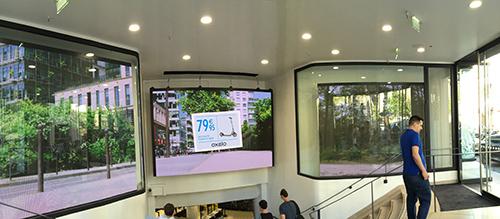 Panneaux publicitaire à LED