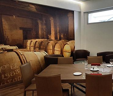Décoration restaurant professionnel avec Scenolia