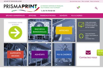 Printing on line web site