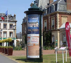 Display column, Cabourg, France