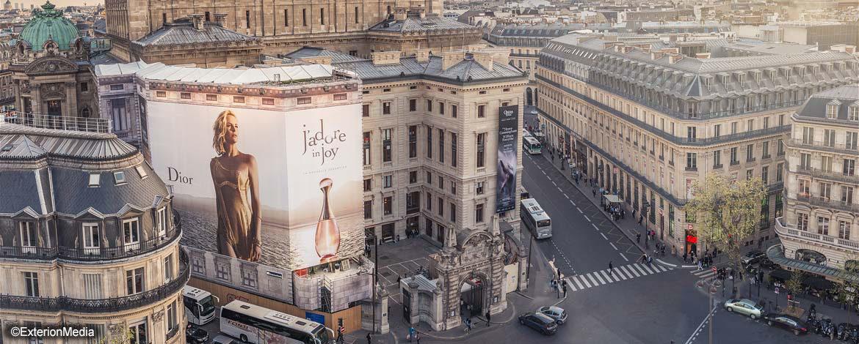 Impression monumentale à Paris