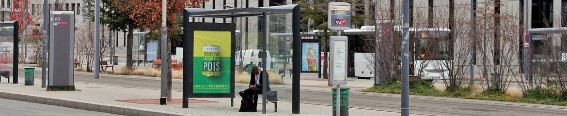 range of our street furniture : bus shelters