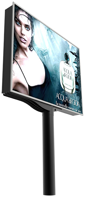 LED Display: Coola Pole