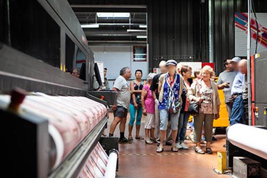 Atelier imprimerie numérique grand format