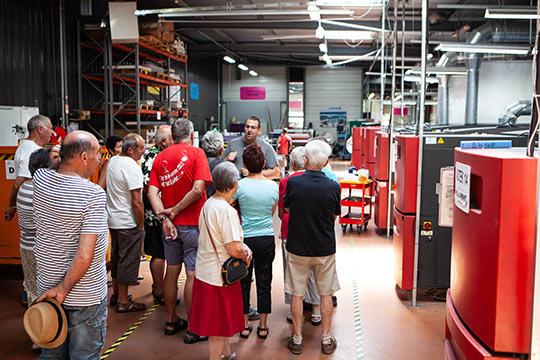 Visite industrie monts du Lyonnais