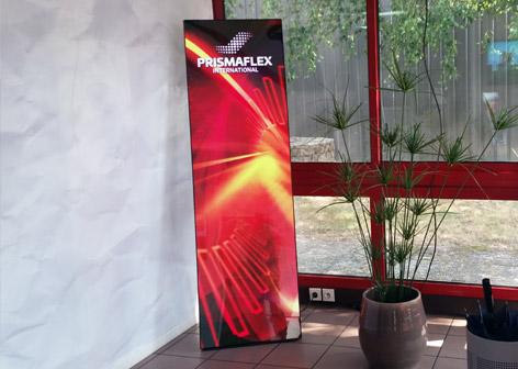 Digital banner accueil entreprise