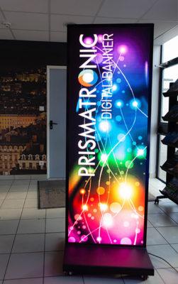 Digital Banner Led Screen For Indoor Usage Prismaflex