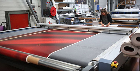 Wide-format digital printing