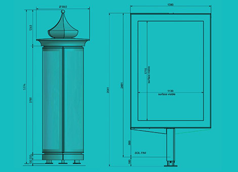 Morris Column and Planimeter Design