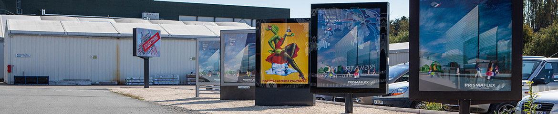 panneaux mobiliers urbains