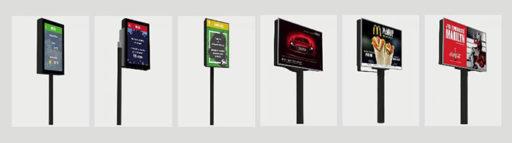 panneaux d'affichage digitaux