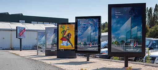 panneaux digitaux grand format
