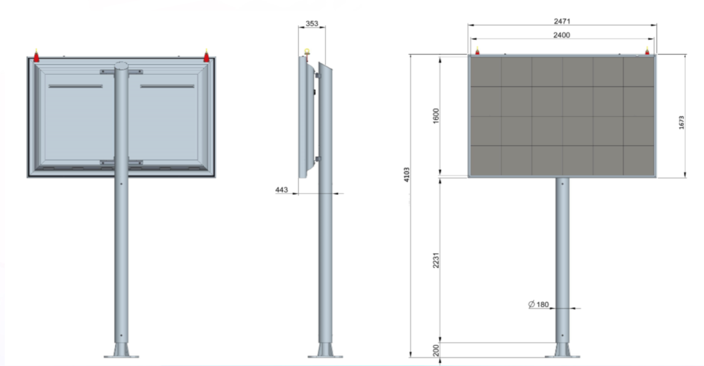 Plan panneau Sofia 4m²