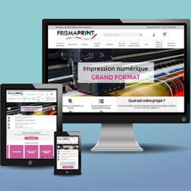 nouvelle version de notre site d'impression en ligne