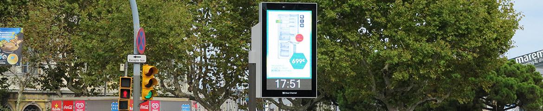 Panneau led 2 m² Barcelone