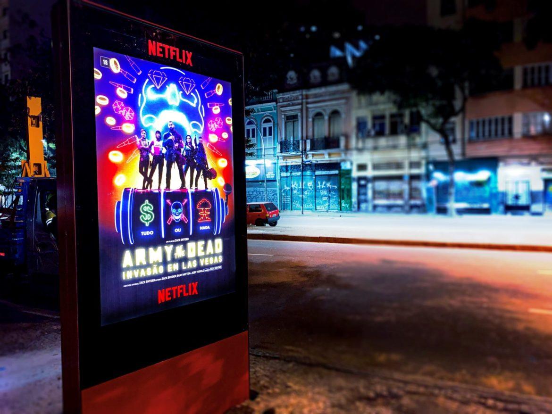 totems installés pour Netflix